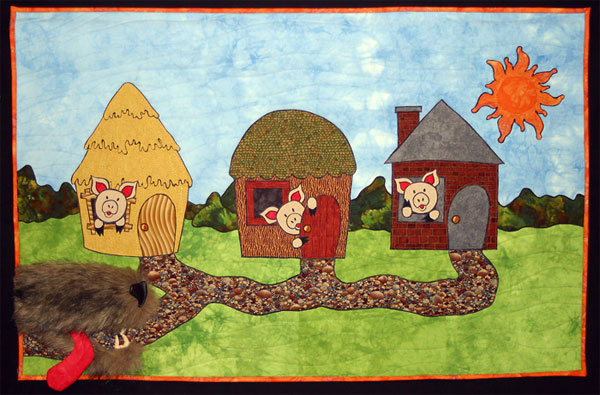 Quilt The Three Little Pigs