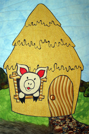 Quilt - The Three Little Pigs